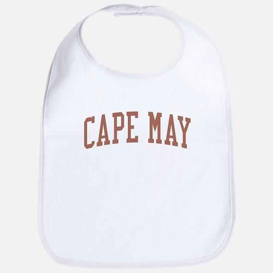 Cape May New Jersey NJ Red Bib