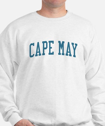 Cape May New Jersey NJ Blue Sweater