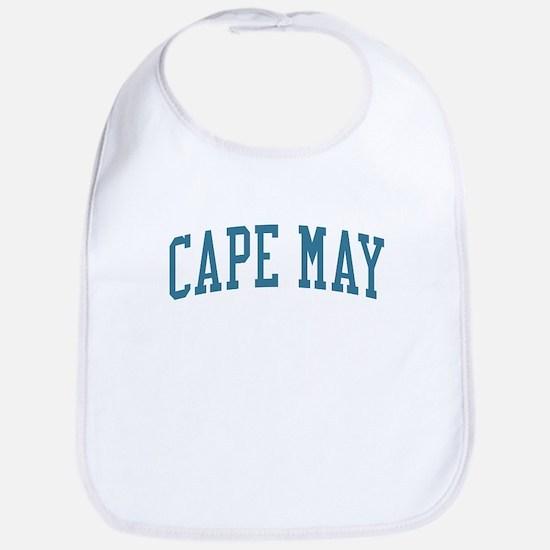 Cape May New Jersey NJ Blue Bib
