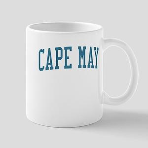 Cape May New Jersey NJ Blue Mug
