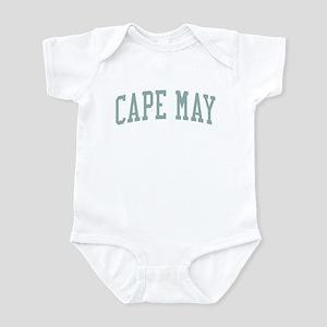 Cape May New Jersey NJ Green Infant Bodysuit