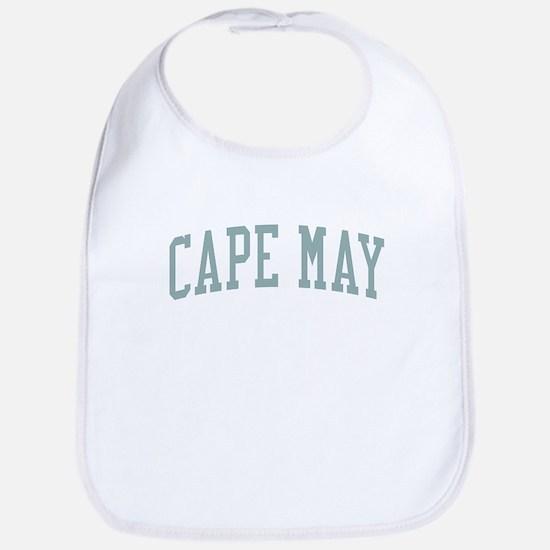 Cape May New Jersey NJ Green Bib