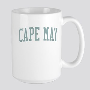 Cape May New Jersey NJ Green Large Mug