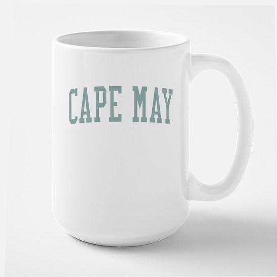Cape May New Jersey NJ Green Large Mug