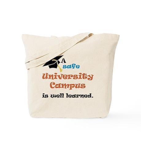 A safe University Campus Tote Bag