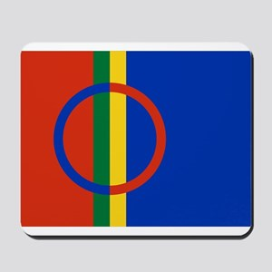 Flag of the Sami People Mousepad