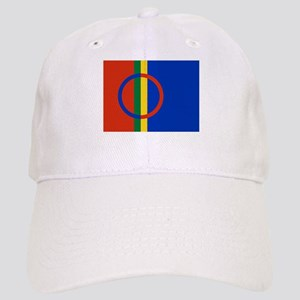 Flag of the Sami People Cap