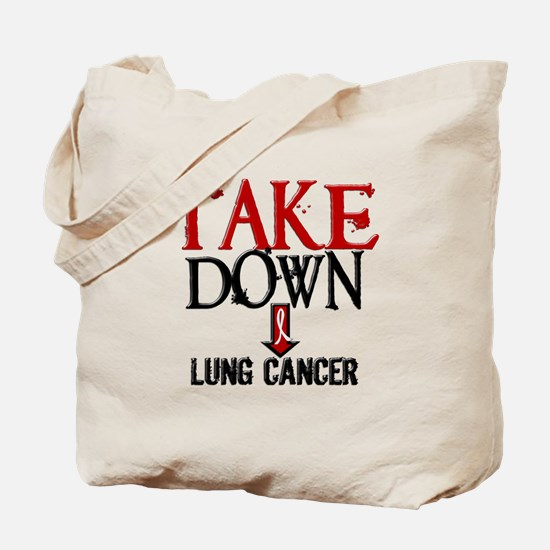Take Down Lung Cancer 2 Tote Bag