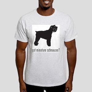 Minature Schnauzer Light T-Shirt