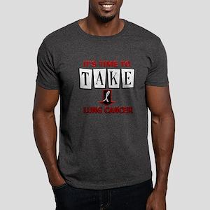 Take Down Lung Cancer 3 Dark T-Shirt