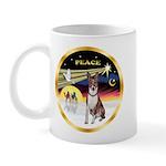 XmasDove/Basenji #2 Mug