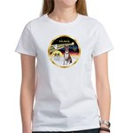 XmasDove/Basenji #2 Women's T-Shirt