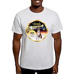 XmasDove/Basenji #2 Light T-Shirt
