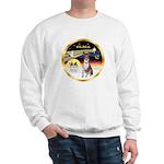 XmasDove/Basenji #2 Sweatshirt
