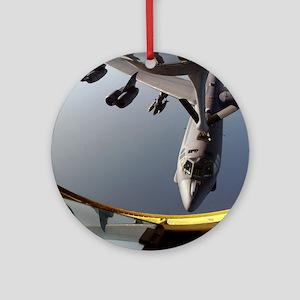 B-52 Refuels Keepsake (Round)