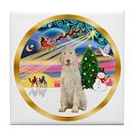 XmasMagic/Spinone #11 Tile Coaster