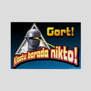 Gort!... Rectangle Magnet