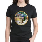 XmasMagic/Beardie #16 Women's Dark T-Shirt