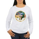 XmasMagic/Beardie #16 Women's Long Sleeve T-Shirt