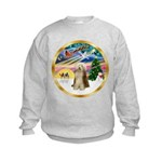 XmasMagic/Beardie #16 Kids Sweatshirt