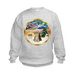 XmasMagic/Beardie #16 Kids Sweatshirt