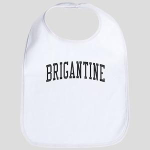 Brigantine New Jersey NJ - Black Bib