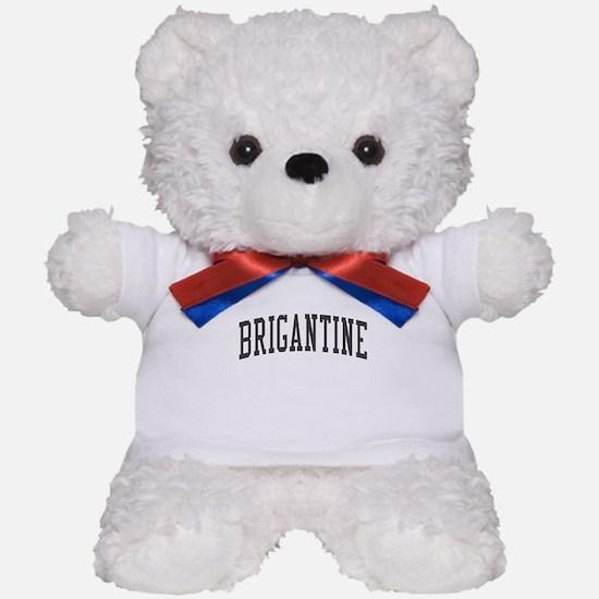 Brigantine New Jersey NJ - Black Teddy Bear