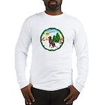 Take Off1/Lab (choc) Long Sleeve T-Shirt