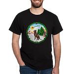Take Off1/Lab (choc) Dark T-Shirt