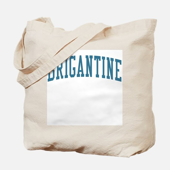 Brigantine New Jersey NJ Blue Tote Bag