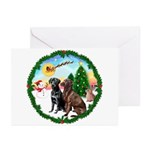 Take Off1/2 Labs(cho/blk) Greeting Cards (Pk of 10