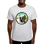 Take Off1/2 Labs(cho/blk) Light T-Shirt
