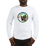 Take Off1/2 Labs(cho/blk) Long Sleeve T-Shirt