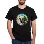 Take Off1/2 Labs(cho/blk) Dark T-Shirt