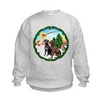 Take Off1/2 Labs(cho/blk) Kids Sweatshirt