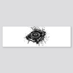 CDJ-1000 Graffiti Bumper Sticker