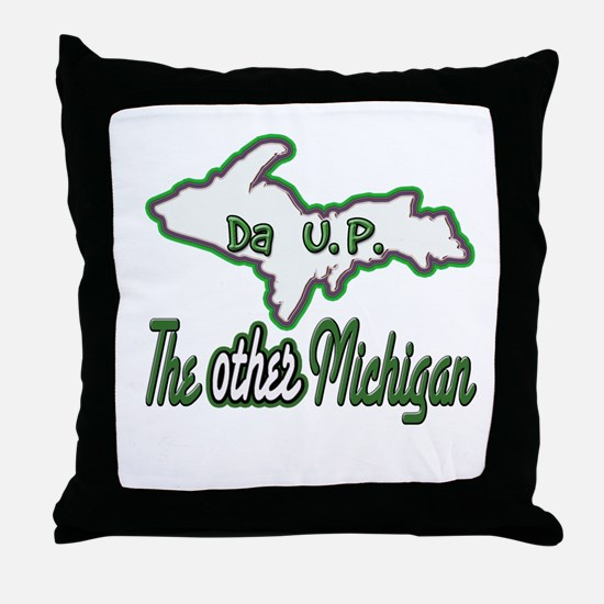 Other Michigan Throw Pillow