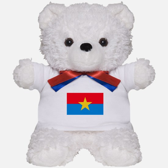 Viet Cong Flag Teddy Bear