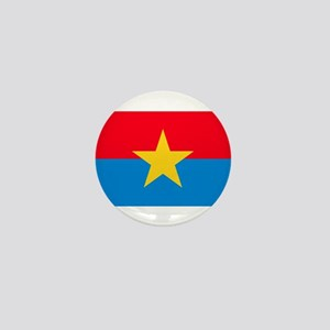 Viet Cong Flag Mini Button