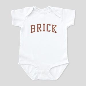 Brick New Jersey NJ Red Infant Bodysuit