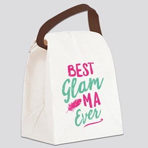 Glam-Ma Grandma Mothers Day Canvas Lunch Bag
