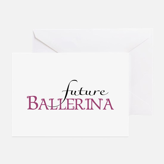 Future Ballerina Greeting Cards (Pk of 20)