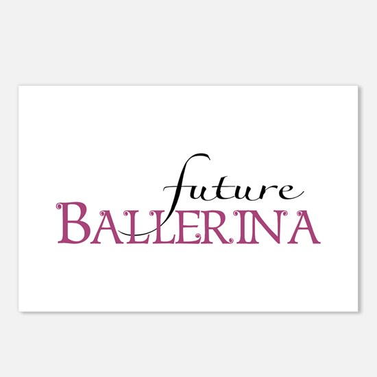 Future Ballerina Postcards (Package of 8)