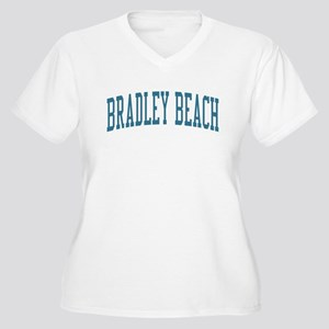 Bradley Beach New Jersey NJ Blue Women's Plus Size