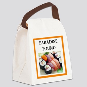 sushi Canvas Lunch Bag