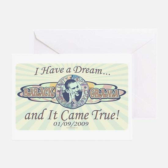 Obama I Have a Dream Greeting Card