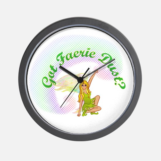 Got Fairy Dust? Wall Clock