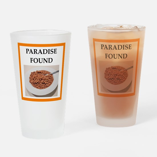 baked beans Drinking Glass