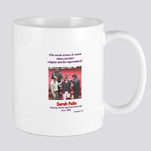 Sarah Palin's exorcism Mug