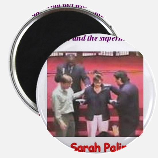 Sarah Palin's exorcism Magnet